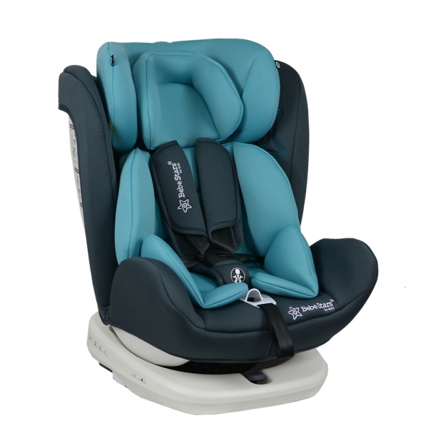 Levante Car Seat isofix 360 rotating col Petrol 0-36 Kgs Group 0+1+2+3