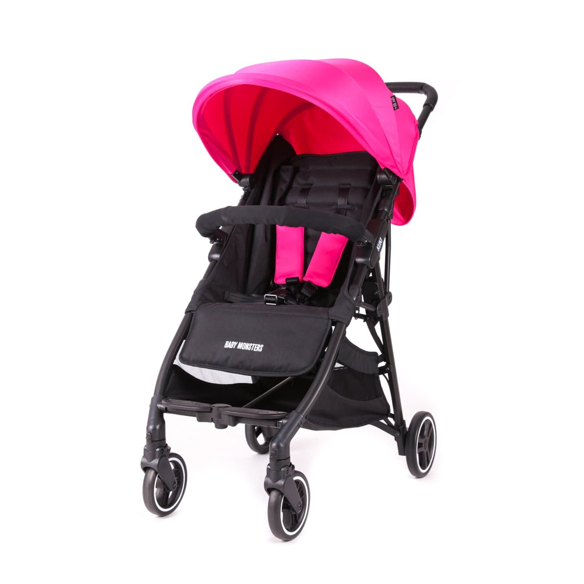 Kuki Stroller By Baby Monsters col Fucshia