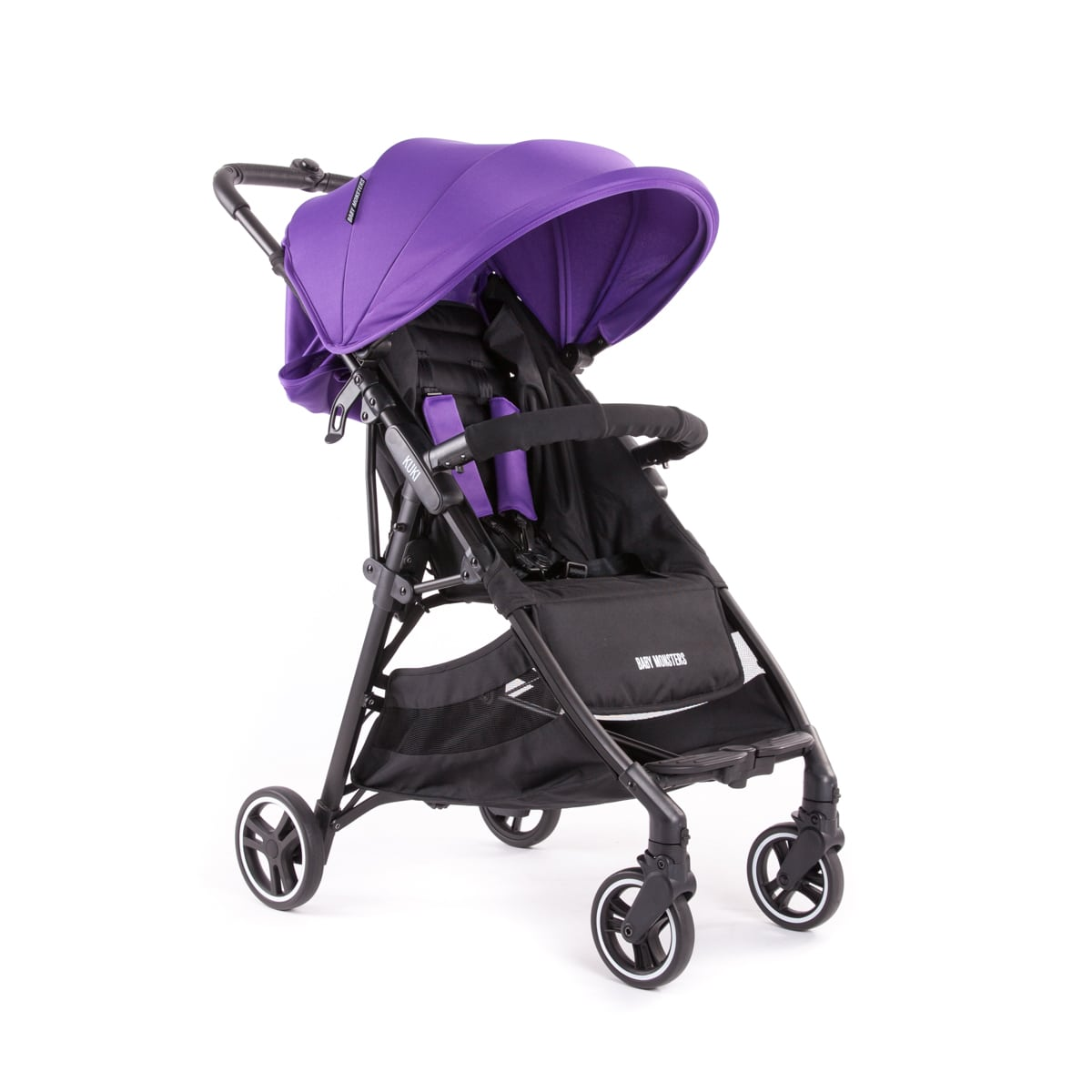 Kuki Stroller By Baby Monsters col Purple