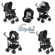 Sprint Trio By Chicco Black
