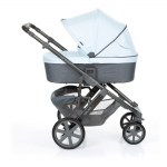 Salsa 4 Ice Carrycot extendable canopy