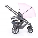Salsa 4 Rose pushchair seat front