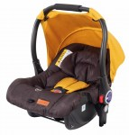 Vivere Black Mango Car seat