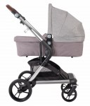Vivere Grey Carry Cot
