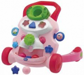 chicco activity walker pink