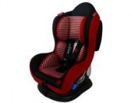 young sport car seat red